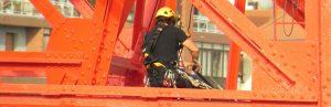 Trabajos verticales en sector industrial